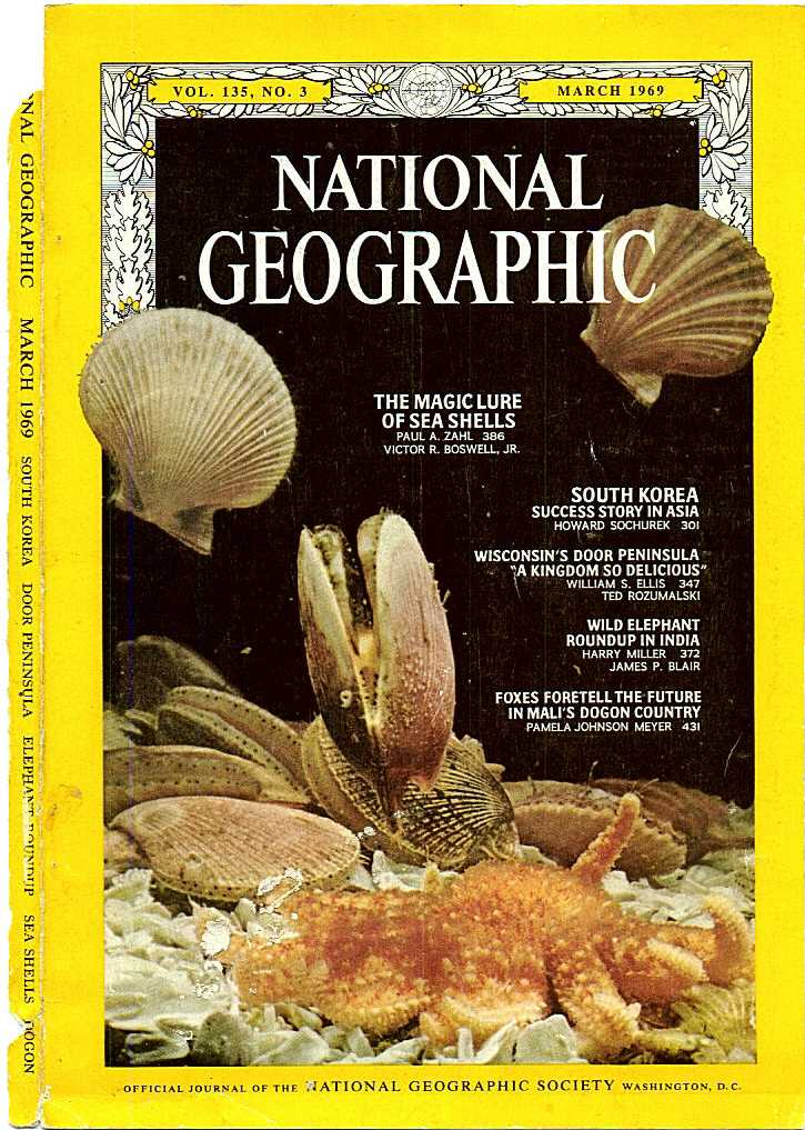 'On the Rocks' was featured in this National Geographic magazine in 1969